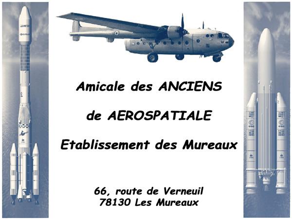 Amicale des Anciens de l'Aerospatiale des Mureaux (AAA/MU) Logo